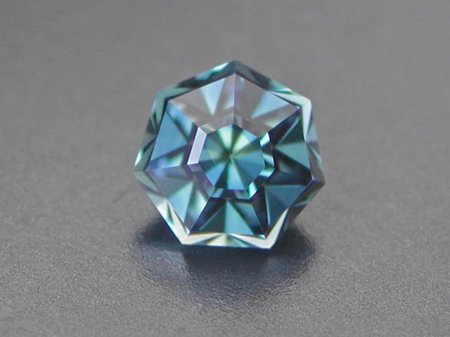 """Sapphire """"Bleu d´Auvergne"""", 0.64 cts."""