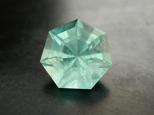 Brazil natural blue-green Aquamarine, 16.21 cts.
